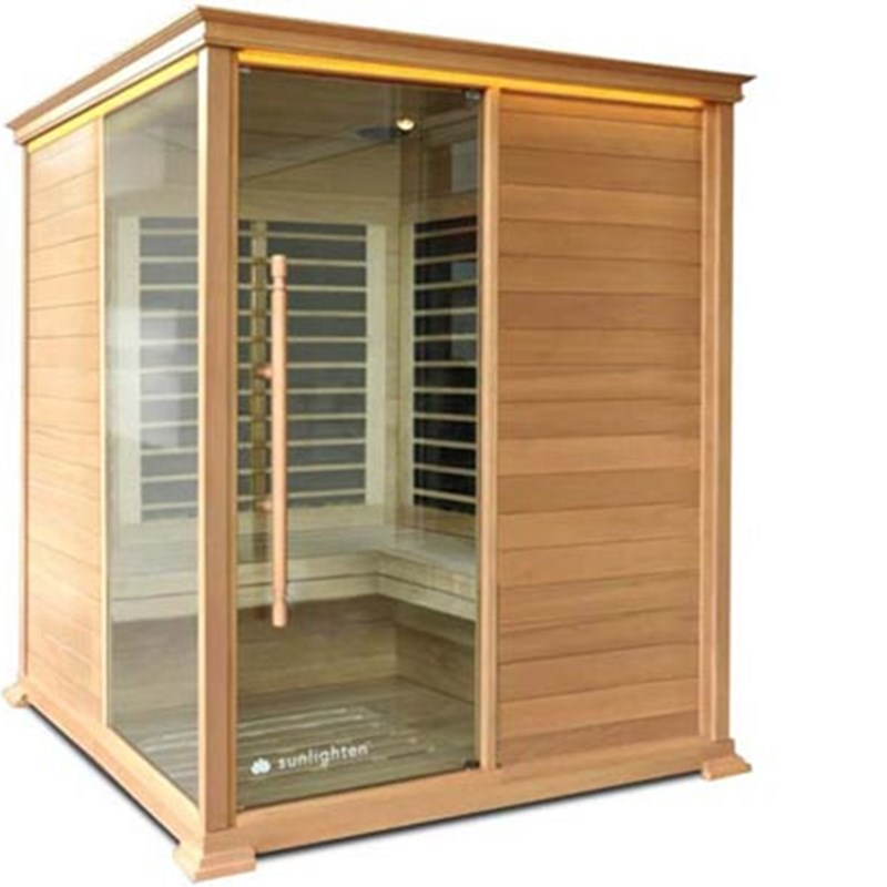 THE FAR INFRARED SAUNA